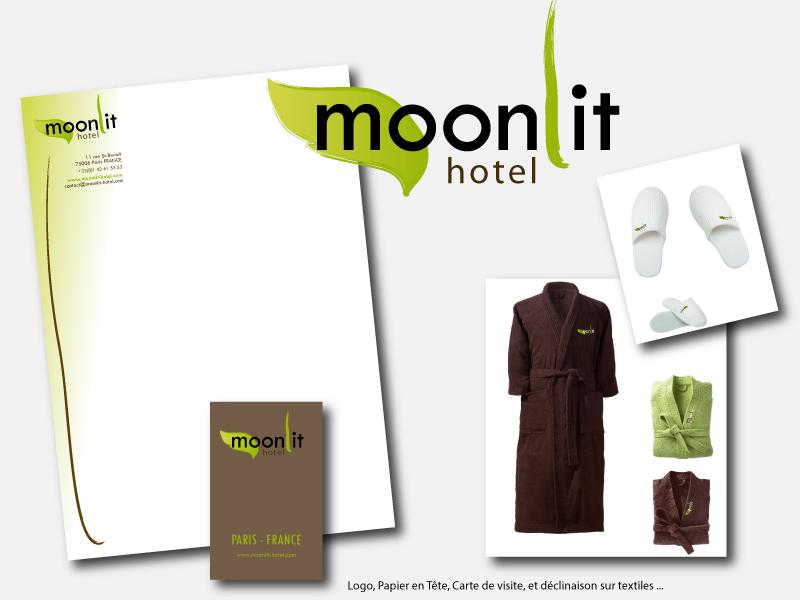 Logo MoonLit et sa Déclinaison Graphique