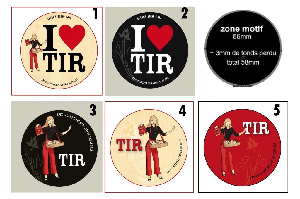 Pin's de la TIR