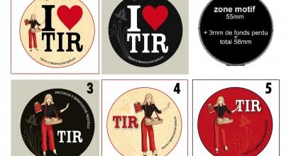 TIR - Pin's