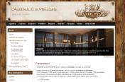 Site Vitrine de l'Académie de la Menuiserie