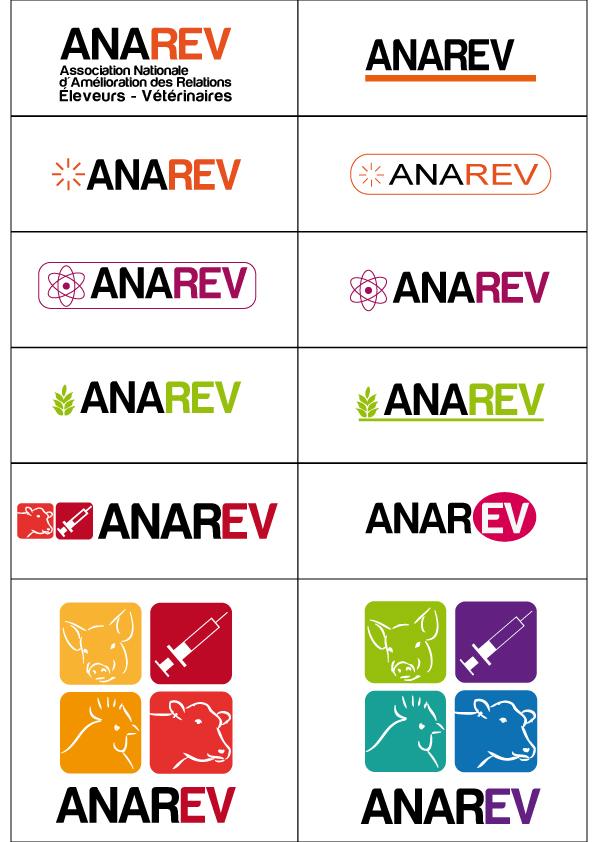 Création de logo Anarev