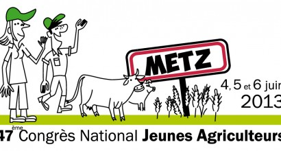Logo pour le congrès national des JA