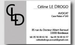 Carte de Visite - avocat