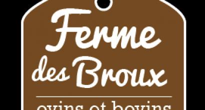 Logo ferme des Broux