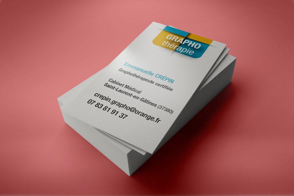 carte de visite Graphothérapie