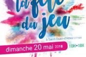La fête du jeu, affiche pour l'édition 2018