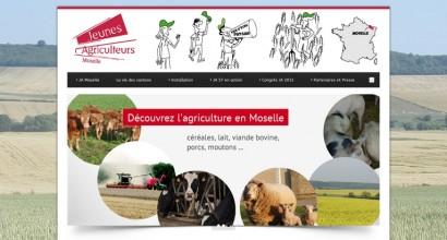 Site Internet des JA de Moselle