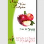 Carte de visite Pomme