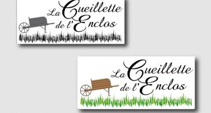 "Logo ""Cueillette de l'Enclos"""